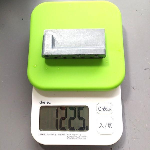 亜鉛ダイキャスト製トレモロブロック 重量