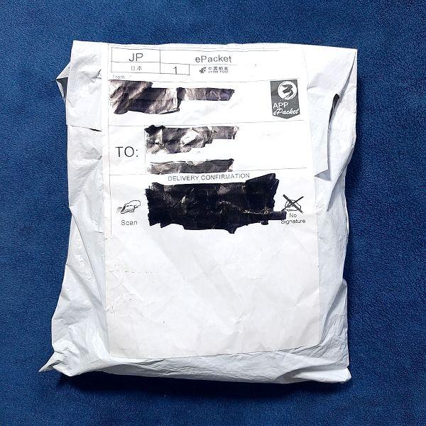 ライオンヘッドパターンテールピース 包装