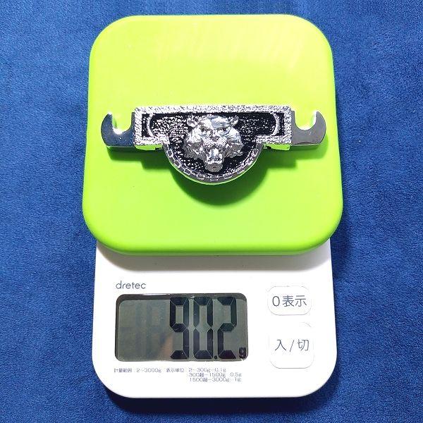 ライオンヘッドパターンテールピース / テールピース重量