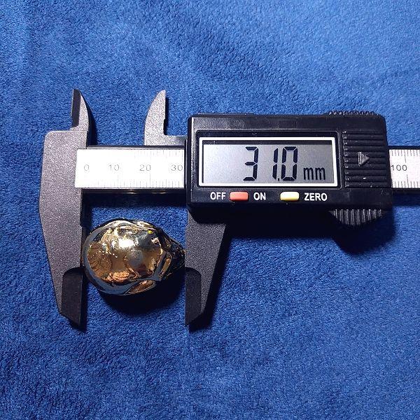Jumbo Skull I / うなじ付近~顎先端:31.0mm