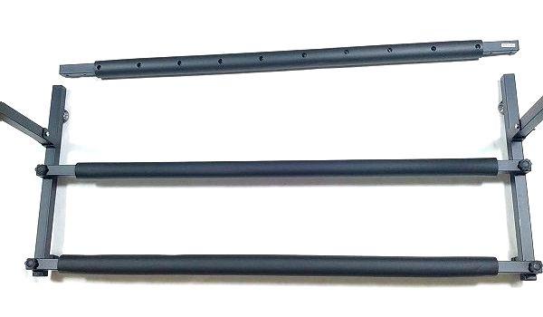 BAOJIADA ギタースタンド 9本収納 ボディ接触部関連寸法