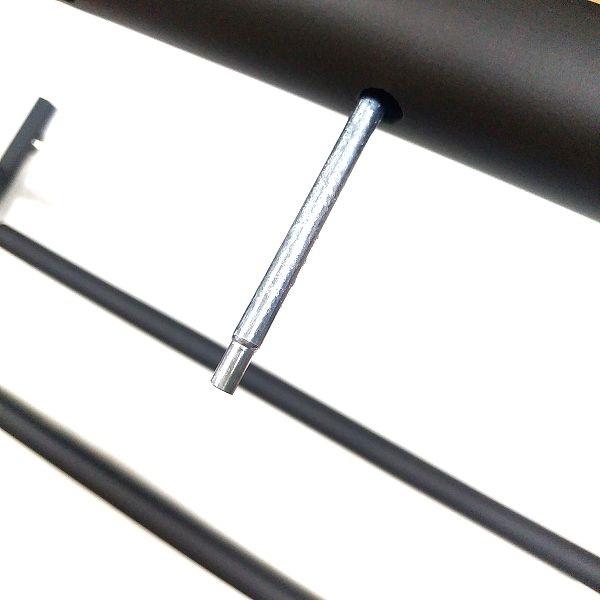 BAOJIADA ギタースタンド 9本収納 仕切り用クッション付きバーを取り付ける