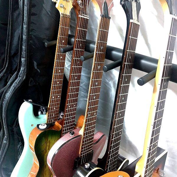 BAOJIADA ギタースタンド 9本収納 ネック接触部