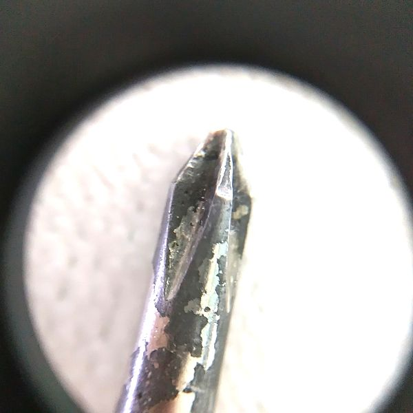 Phoenix メガネ型ルーペ 実レンズ映像(25倍)