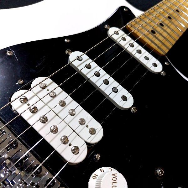 Fender Player Stratocaster Floyd Rose HSS ピックアップレイアウト