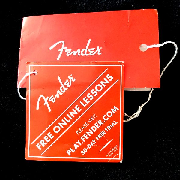Fender Player Stratocaster Floyd Rose HSS 無料オンラインレッスンカード