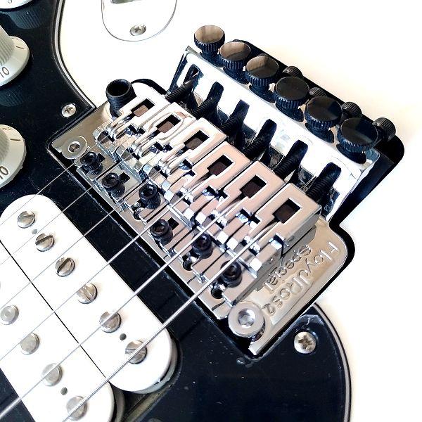 Fender Player Stratocaster Floyd Rose HSS オクターブ�ューニング