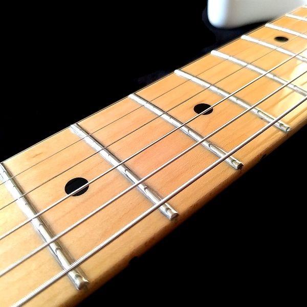 Fender Player Stratocaster Floyd Rose HSS フレット1