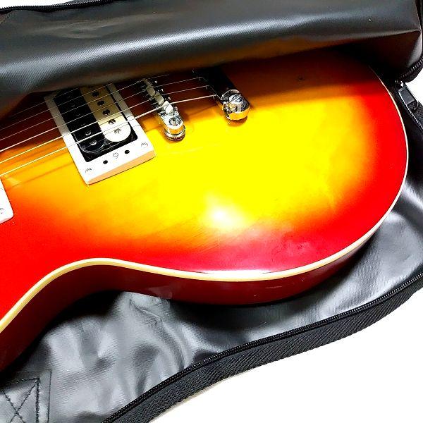 PLAYTECH Guitar BAG レスポールタイプ ボディ側収納