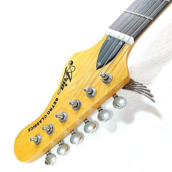 ブロンズ& シルバーウイング! 6弦ペグ取付け別方法